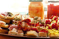 Prepared delicious appetizer food Royalty Free Stock Photos