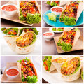 Prepared mexican food ready eating Royalty Free Stock Images
