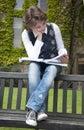 Preparing for exams Stock Image