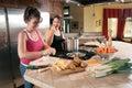 Preparing a soup Royalty Free Stock Photo
