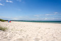 Prerow beach in baltic sea germany Royalty Free Stock Images