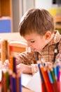 Preschooler boy Royalty Free Stock Photo