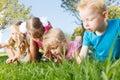 Preschoolers Exploring The Nat...