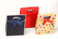 Present bags Royalty Free Stock Photography