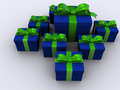 Present box 5 Royalty Free Stock Images