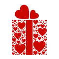 Present box of love Stock Images
