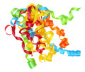Present Curly Ribbon Royalty Free Stock Photo