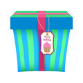 Present gift boxes vector illustration