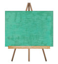 Presentation easel drawing chalkboard. Royalty Free Stock Photo