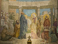The presentation of Jesus in the Temple Royalty Free Stock Photo