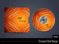 Presentation vector cd cover design Royalty Free Stock Photos