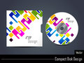 Presentation of vector cd cover design Royalty Free Stock Photo