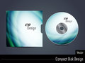 Presentation of vector cd cover design illustration Stock Images