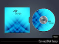 Presentation of vector cd cover design illustration Stock Image