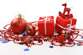 Presents and decorations Royalty Free Stock Images