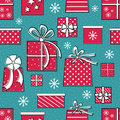 Presents Seamless Pattern Stock Image