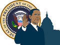 President Barack Obama Royalty Free Stock Images