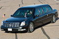 President barack obama s limousine phoenix az may on the tarmac at phoenix sky harbor airport on may in phoenix az Royalty Free Stock Images