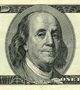 President Benjamin Franklin Royalty Free Stock Photos
