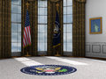 President, Presidential Oval Office, White House Royalty Free Stock Photo