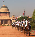 President s bodyguard india the pbg is an elite household cavalry regiment of the indian army it is senior most in the order of Stock Images