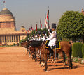 President s bodyguard india the pbg is an elite household cavalry regiment of the indian army it is senior most in the order of Royalty Free Stock Image