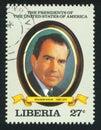 President of the United States Richard Nixon Royalty Free Stock Photo