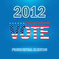 Presidential Election In 2012 Royalty Free Stock Image