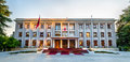 The Presidential Palace of Tirana Royalty Free Stock Photo