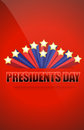 Presidents day sign Stock Photography