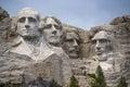 The Presidents of Mount Rushmore, South Dakota. Stock Images