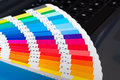 Press color management cmyk palette Royalty Free Stock Photo