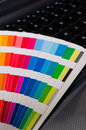 Press color management cmyk palette Royalty Free Stock Photography