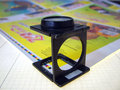 Press magnifying glass Royalty Free Stock Image