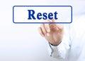 Press reset button
