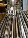 Press sheet cutter Stock Photo