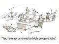 Pressure jobs Stock Photography