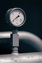 Pressure meter Royalty Free Stock Photos