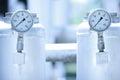 Pressure meter Royalty Free Stock Photo