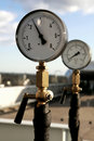 Pressure meter Royalty Free Stock Photo