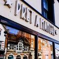 Pret A Manger Coffee Shop Retail Chain Royalty Free Stock Photo