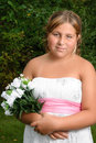 Preteen Formal Portrait Royalty Free Stock Images