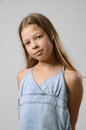 Preteen girl Stock Photo