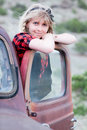 Pretty Blonde Girl Royalty Free Stock Photo