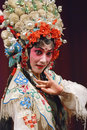Pretty chinese opera actress Stock Photography