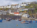 Pretty cornish harbour Royalty Free Stock Photo