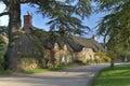 Pretty Cotswold village Royalty Free Stock Photo