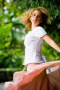 Pretty Girl Outside Royalty Free Stock Images