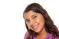 Pretty Hispanic Girl Portrait Royalty Free Stock Photo