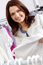 Pretty shopper Royalty Free Stock Photo